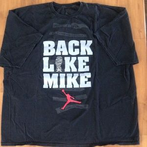 'BACK LIKE MIKE' Air Jordan T-Shirt